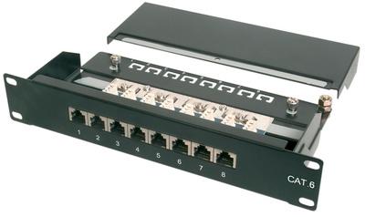 Digitus 10 Patch Panel Kat.6 Klasse E 12 x RJ45 1 HE