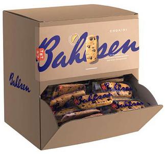 Bahlsen gebak Chokini , display