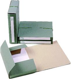 Extendos opbergbox 1240 voor DIN A4 van karton groen