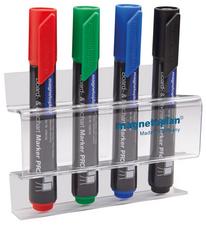 magnetoplan acryl markerhouder voor 4 Boardmarker