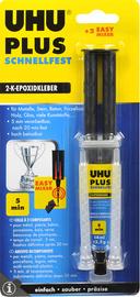 UHU 2-componenten-lijm plus snel drogend 15 g dubbel-