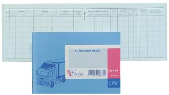 Koning & Ebhardt Fahrtenboek LKW DIN A6 40 blad