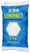 speciaalsalz voor vaatwassers fijn 2 kg zak