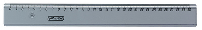 Herlitz liniaal 160 mm lang transparant
