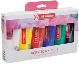 ROYAL TALENS acrylverf ArtCreation 75 ml 6er-set