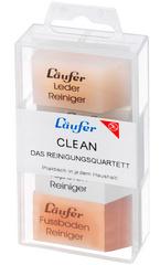 Laufer CLEAN -reinigerquartett in transparantzichtbox