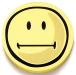 magnetoplan Bewertungssymbool Smilies negativ rond