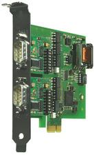 W&T 2xRS232/422/485 PCI Express kaart, galvanische Trennung