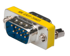 Gender Changer 9 Pol Sub-D stekker -9 Pol Sub-D koppeling