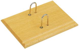 JPC behuizing voor Kalendarien van hout beugel van metaal