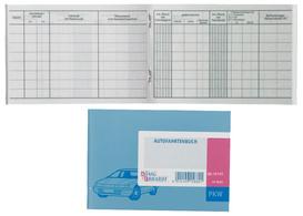 Koning & Ebhardt Fahrtenboek PKW DIN A6 40 blad