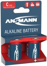Ansmann Alkaline batterij RED Baby C LR14 2er blister