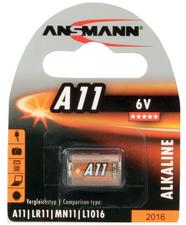 Ansmann Alkaline batterij A11 6 Volt 1 op blister