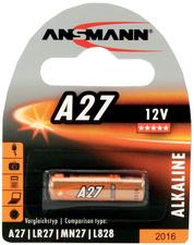 Ansmann Alkaline batterij A27 12 Volt 1 op blister