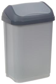 OKT afvalemmer Swing-Bin 10 Liter antraciet / creme