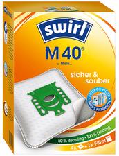 swirl stofzuigerzak M 40 met MicroporPlus-Filter