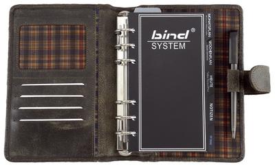 bind termijnplanner model 10101-1 A6 zonder kalender zwart