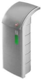 Hailo afvalbak profieline WSB 120, 120 Liter, grijs