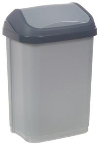 OKT afvalemmer Swing-Bin 25 Liter antraciet / creme