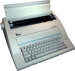 TWEN Elektrische schrijfmachine TWEN 180 PLUS