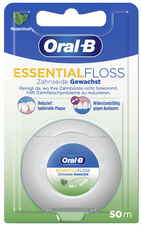 Oral-B Zahnseide Essentialfloss 50 m Minzgeschmack