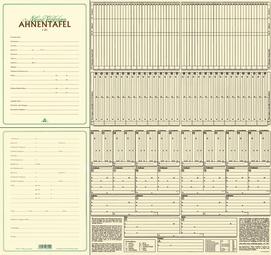 RNK Verlag Ahnentafel Meine Vorfahren DIN A2