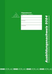 RNK Verlag Ausbildungsnaarweis-blok wchentlich/monatlich
