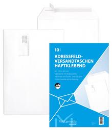 MAILmedia adresfeldEnveloppen B4 met venster wit