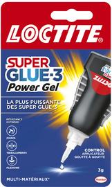 LOCTITE seconde lijm Power Flex Gel Control, 3 g tube