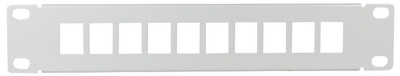 Logilink 10 Keystone Patch Panel, lichtgrijs