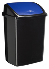 Cep afvalbak, met zwenkbare deksel, 50 Liter