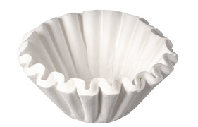 Tchibo bakfilter, diameter: 250 mm, bruin