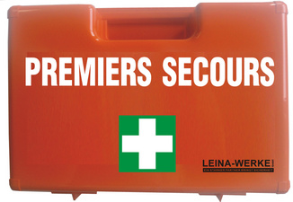 LEINA EHBO-Koffer PREMIERS SECOURS, inhoud DIN 13157