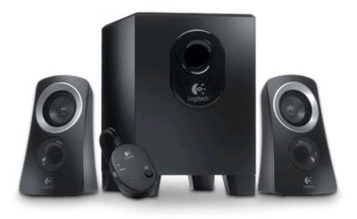 Logitech 2.1 luidspreker systeem Z313, zwart