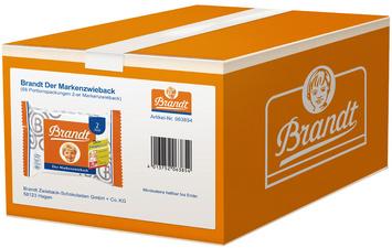 Brandt Zwieback, Portionsverpakkingen in doosje