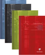 Carnet de bord piqure 14,8x21cm 40 pages 110g