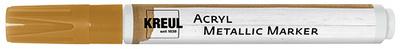 KREUL acryl metallic marker Medium, ronde punt, goud