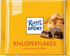 Ritter SPORT chocoladereep KNUSPERFLAKES, 100 g