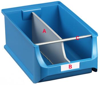 allit insteekschild voor Sichtlagerkasten ProfiPlus Box 1