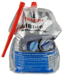 NIGRIN AdBlue Standbeutel, gebruiksklaar, 5 Liter
