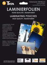 TWEN lamineerhoezen voor visitekaartjes, 60 x 90 mm
