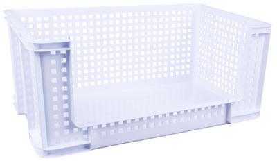 Really Useful Box Aufbewahrungskorb, 64 Liter, blauw