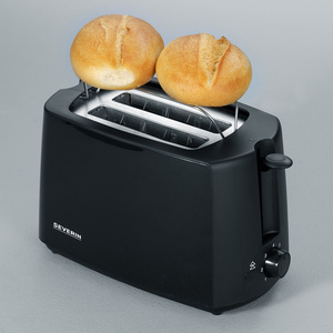 SEVERIN 2-Scheiben-Toaster AT 2287, 700 Watt, zwart