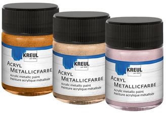 KREUL Acryl-metallic verf, champagner, 50 ml